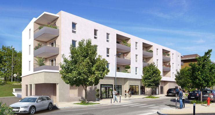 Photo du Résidence « Les Demeures des Fontaines » programme immobilier neuf à Villefontaine