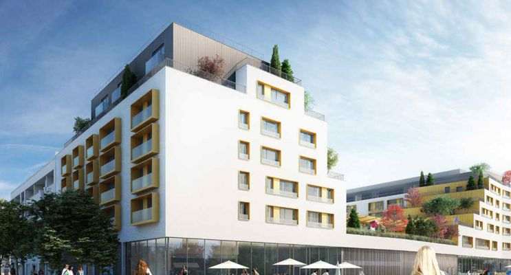 Photo du Résidence « Les Girandières du Lac » programme immobilier neuf à Voiron