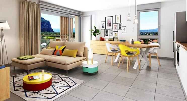 Résidence « Eden Roc » programme immobilier neuf en Loi Pinel à Voreppe n°2
