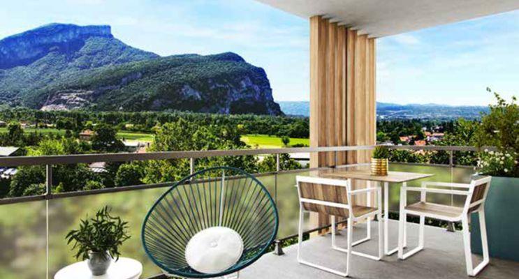 Résidence « Eden Roc » programme immobilier neuf en Loi Pinel à Voreppe n°3