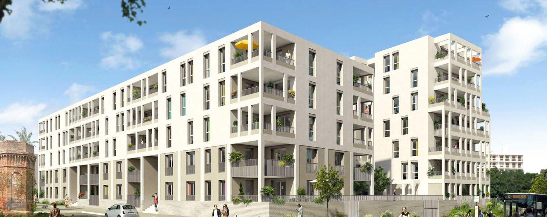 Saint-Étienne : programme immobilier neuve « Factory »