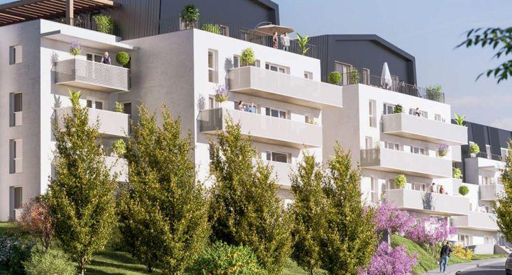 Chamalières : programme immobilier neuf « Arbor & Sens » en Loi Pinel