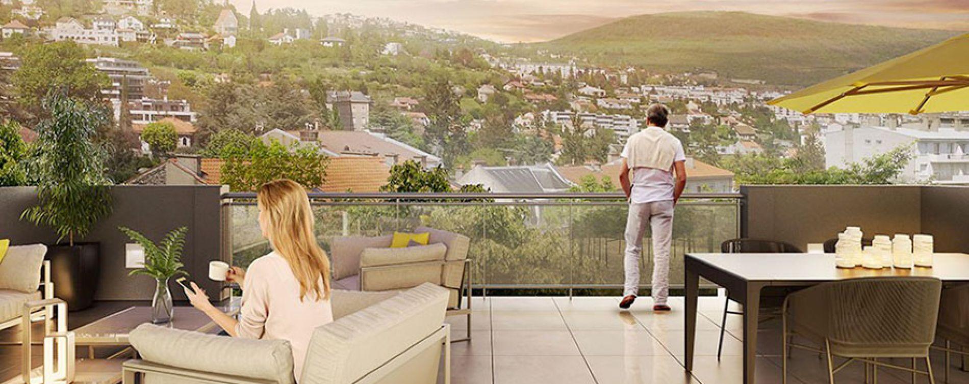 Chamalières : programme immobilier neuve « Les Jardins de la Tiretaine » en Loi Pinel (2)
