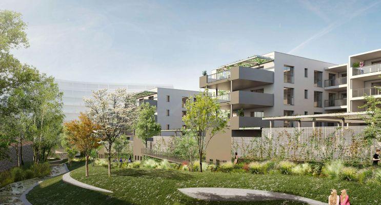 Photo du Résidence « Les Jardins de la Tiretaine » programme immobilier neuf en Loi Pinel à Chamalières