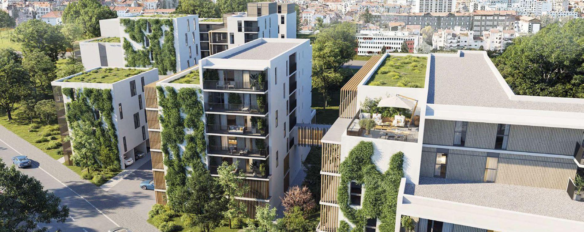 Clermont-Ferrand : programme immobilier neuve « Au Pluriel » en Loi Pinel
