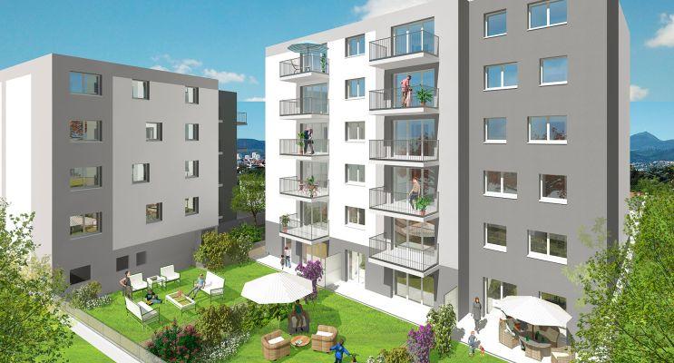 Clermont-Ferrand : programme immobilier neuf « Cubik » en Loi Pinel