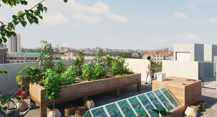 Photo n°4 du Résidence « Decliq » programme immobilier neuf en Loi Pinel à Clermont-Ferrand
