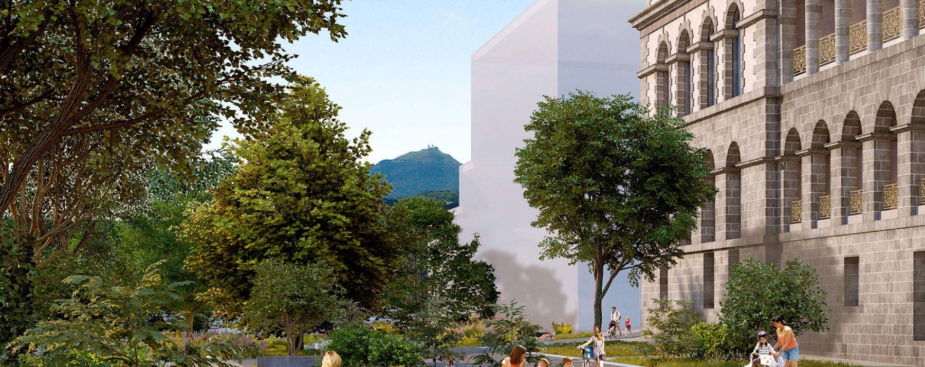 Résidence Hôtel Dieu - Les Pavillons à Clermont-Ferrand