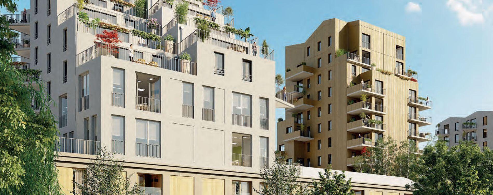 Clermont-Ferrand : programme immobilier neuve « Ilo23 » en Loi Pinel