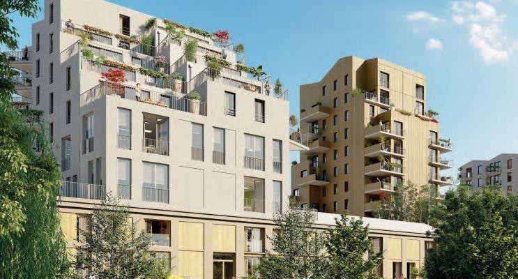 Clermont-Ferrand : programme immobilier neuf « Ilo23 » en Loi Pinel