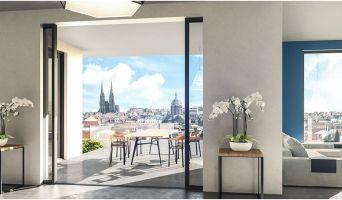 Clermont-Ferrand programme immobilier neuve « Les Allées Blatin - Tranche 1 »  (2)