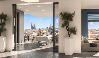 Photo n°5 du Résidence « Les Allées Blatin - Tranche 1 » programme immobilier neuf en Loi Pinel à Clermont-Ferrand
