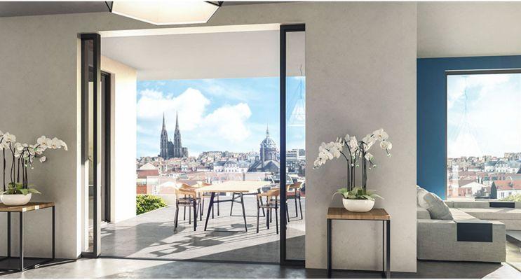 Photo n°2 du Résidence « Les Allées Blatin - Tranche 1 » programme immobilier neuf en Loi Pinel à Clermont-Ferrand