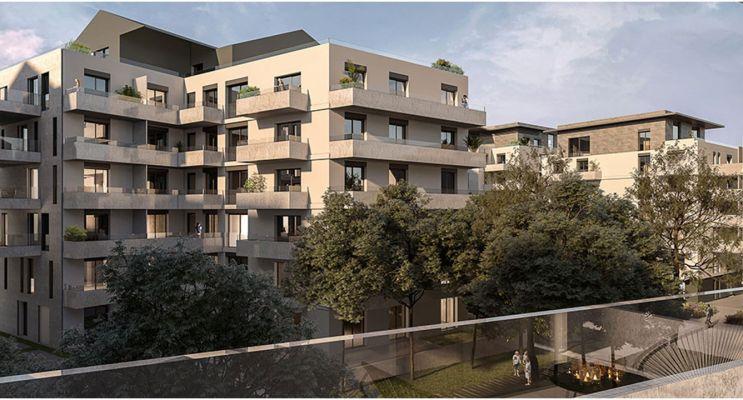 Photo n°3 du Résidence « Les Allées Blatin - Tranche 1 » programme immobilier neuf en Loi Pinel à Clermont-Ferrand