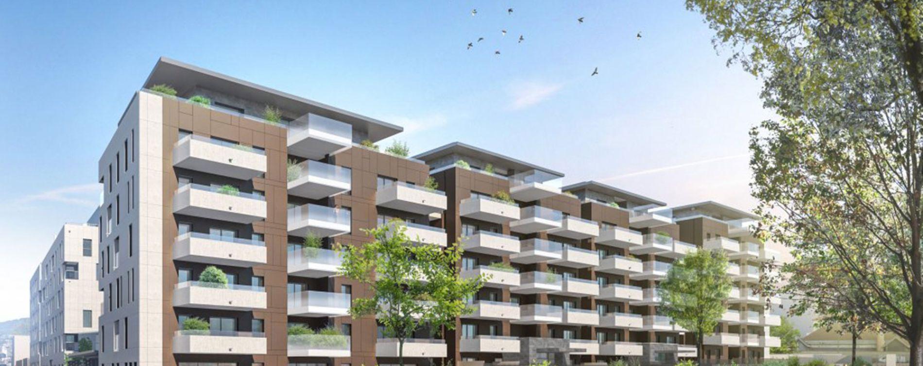Clermont-Ferrand : programme immobilier neuve « Les Allées Blatin - Tranche 2 » en Loi Pinel