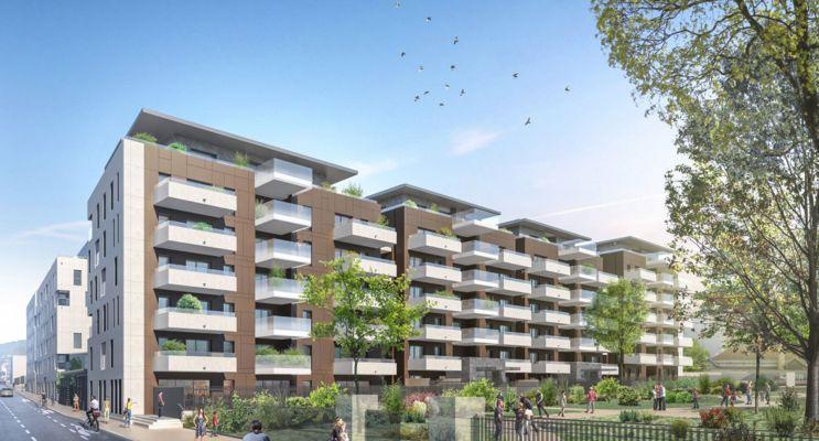 Clermont-Ferrand : programme immobilier neuf « Les Allées Blatin - Tranche 2 » en Loi Pinel
