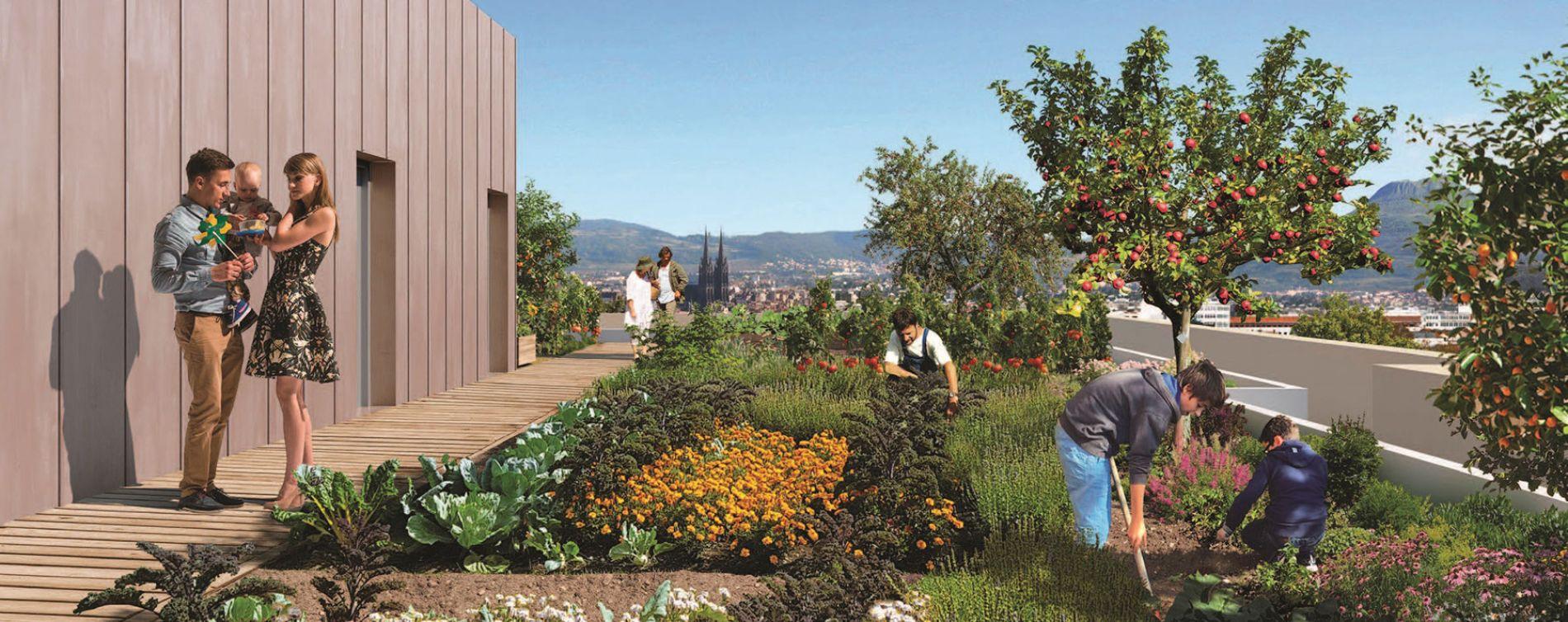 Clermont-Ferrand : programme immobilier neuve « Les Fabriks de Mai » en Loi Pinel