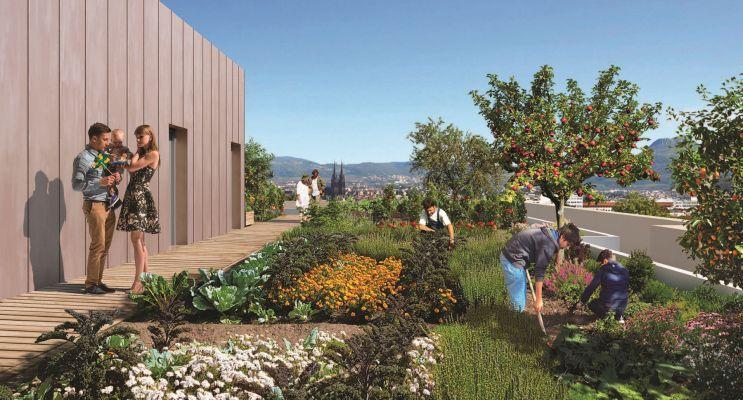 Clermont-Ferrand : programme immobilier neuf « Les Fabriks de Mai » en Loi Pinel