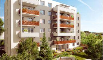 Photo n°2 du Résidence « Les Hauts De L'Oradou » programme immobilier neuf en Loi Pinel à Clermont-Ferrand