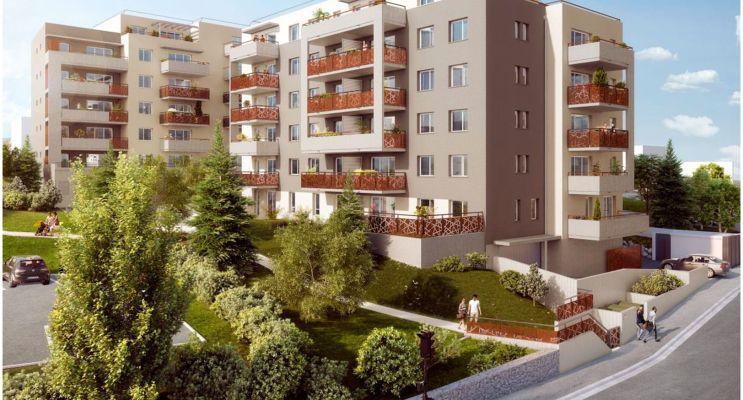 Résidence « Les Hauts De L'Oradou » programme immobilier neuf en Loi Pinel à Clermont-Ferrand n°1