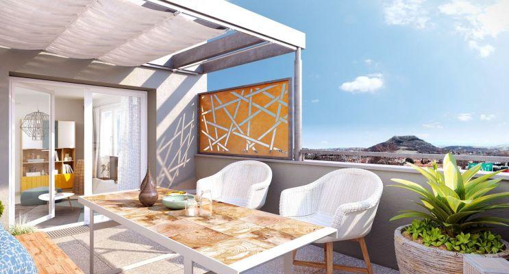 Résidence « Les Hauts De L'Oradou » programme immobilier neuf en Loi Pinel à Clermont-Ferrand n°3