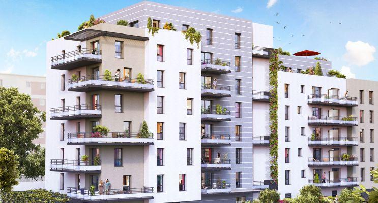 Photo du Résidence « Millésime » programme immobilier neuf en Loi Pinel à Clermont-Ferrand