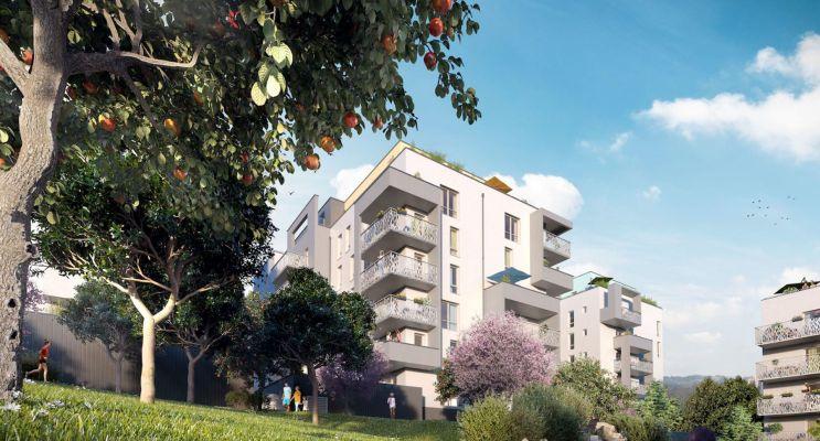 Clermont-Ferrand : programme immobilier neuf « Prisme » en Loi Pinel