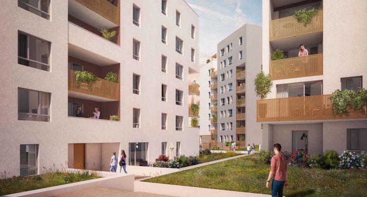 Résidence « Regens Parc » programme immobilier neuf en Loi Pinel à Clermont-Ferrand n°2