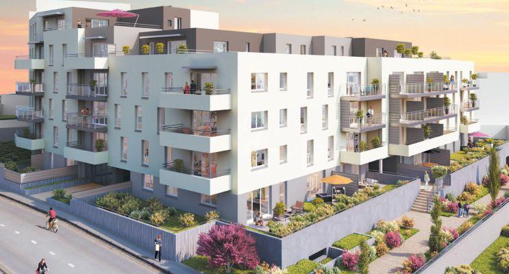 Photo du Résidence « Sun Side » programme immobilier neuf en Loi Pinel à Clermont-Ferrand