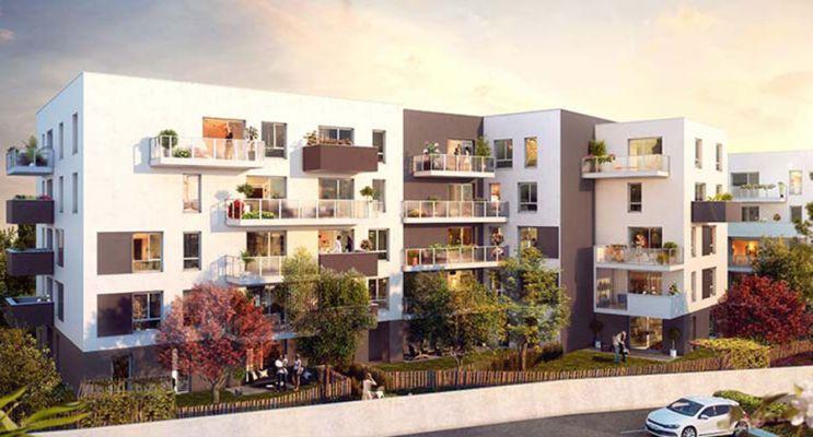 Photo n°1 du Résidence « Un Jardin En Ville » programme immobilier neuf en Loi Pinel à Clermont-Ferrand