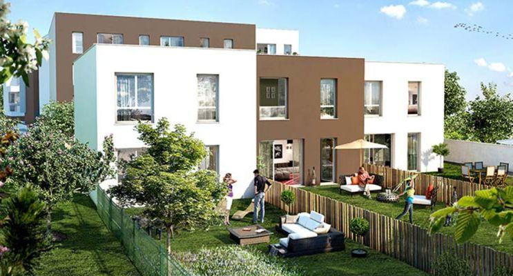 Photo n°2 du Résidence « Un Jardin En Ville » programme immobilier neuf en Loi Pinel à Clermont-Ferrand