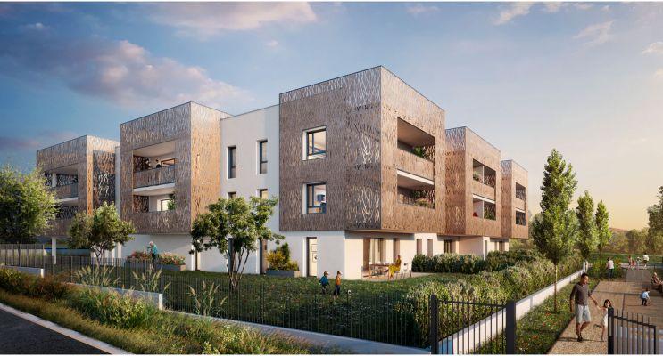 Résidence « Idyllique » programme immobilier neuf en Loi Pinel à Arnas n°2