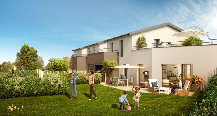 Résidence « Idyllique » programme immobilier neuf en Loi Pinel à Arnas n°3