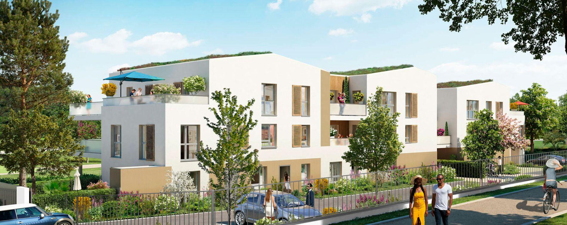 Arnas : programme immobilier neuve « Programme immobilier n°218133 » en Loi Pinel