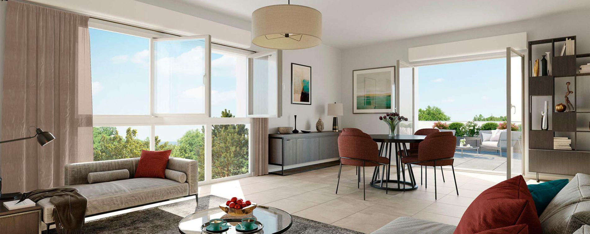 Arnas : programme immobilier neuve « Programme immobilier n°218133 » en Loi Pinel (4)