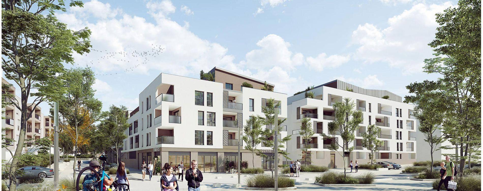 Brignais : programme immobilier neuve « Sunlodge » en Loi Pinel