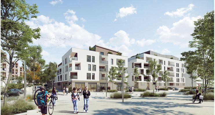 Brignais : programme immobilier neuf « Sunlodge » en Loi Pinel