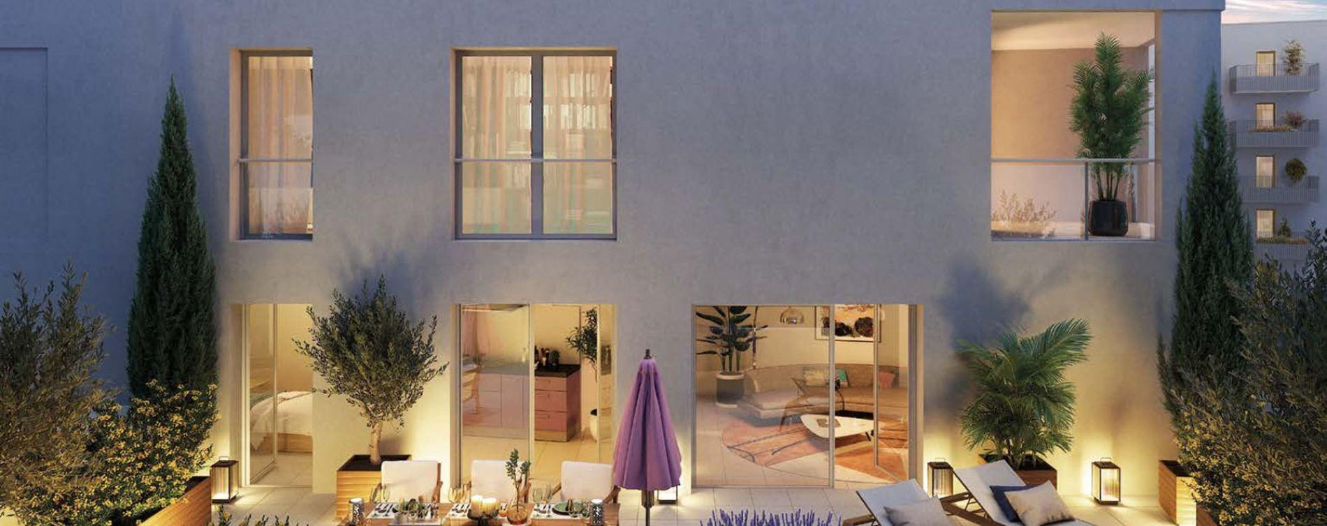 Bron : programme immobilier neuve « Programme immobilier n°219098 » en Loi Pinel