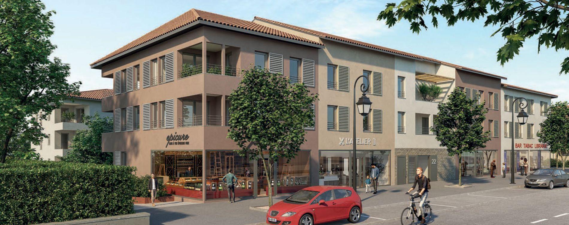 Chaponost : programme immobilier neuve « Le Clos Pradel » en Loi Pinel