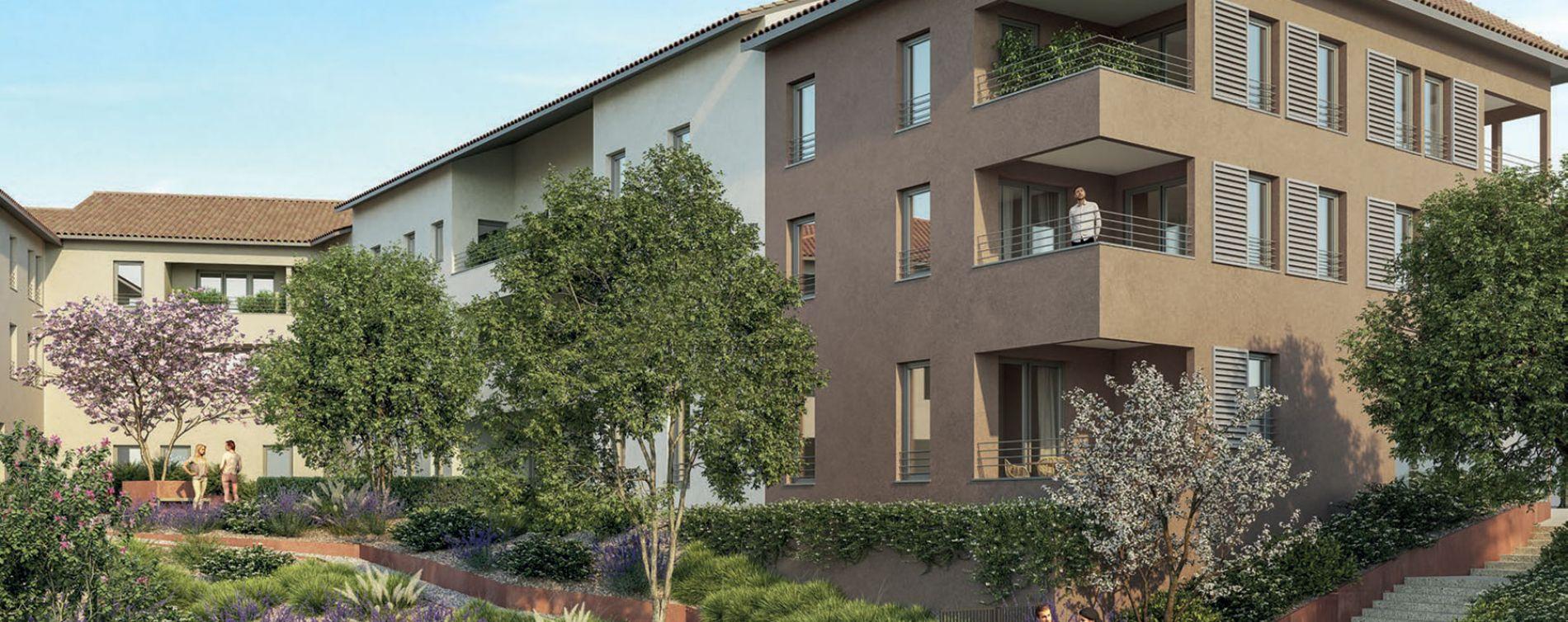 Chaponost : programme immobilier neuve « Le Clos Pradel » en Loi Pinel (2)