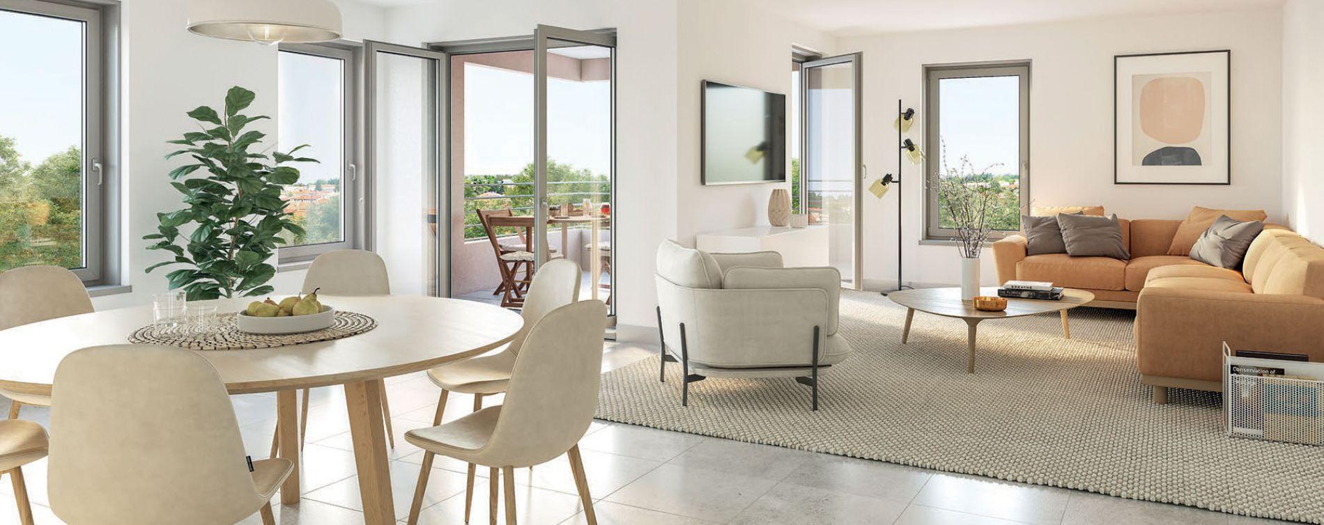 Chaponost : programme immobilier neuve « Le Clos Pradel » en Loi Pinel (3)