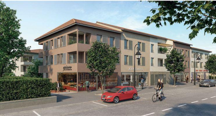 Chaponost : programme immobilier neuf « Le Clos Pradel » en Loi Pinel