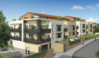 Chaponost programme immobilier neuve « Parfum sud »