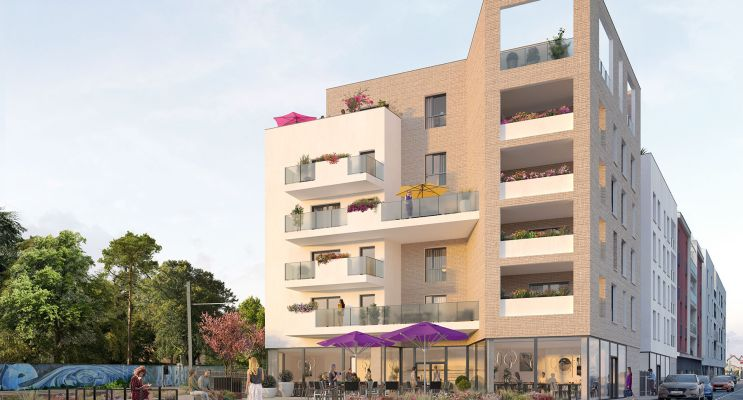 Décines-Charpieu : programme immobilier neuf « Harmonie » en Loi Pinel