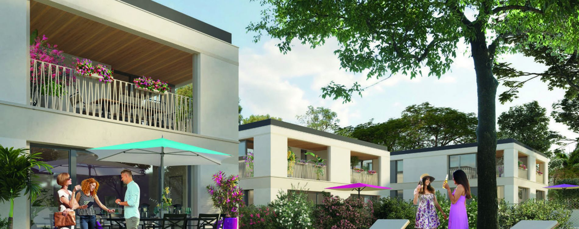 Feyzin : programme immobilier neuve « Be Twin »