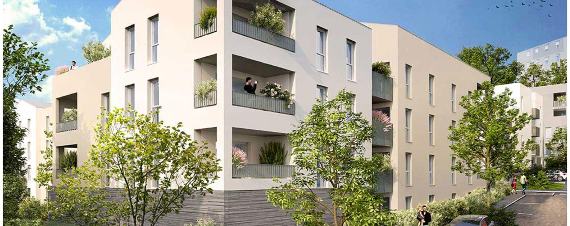 Feyzin : programme immobilier neuve « Le clos du fort » en Loi Pinel