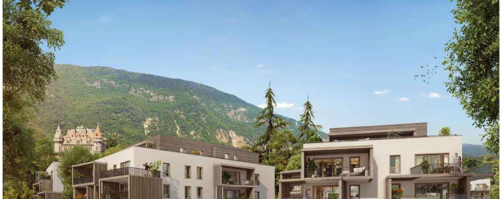 Feyzin : programme immobilier neuve « Le clos du fort » en Loi Pinel (2)
