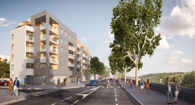 Givors programme immobilier neuf « View » en Loi Pinel