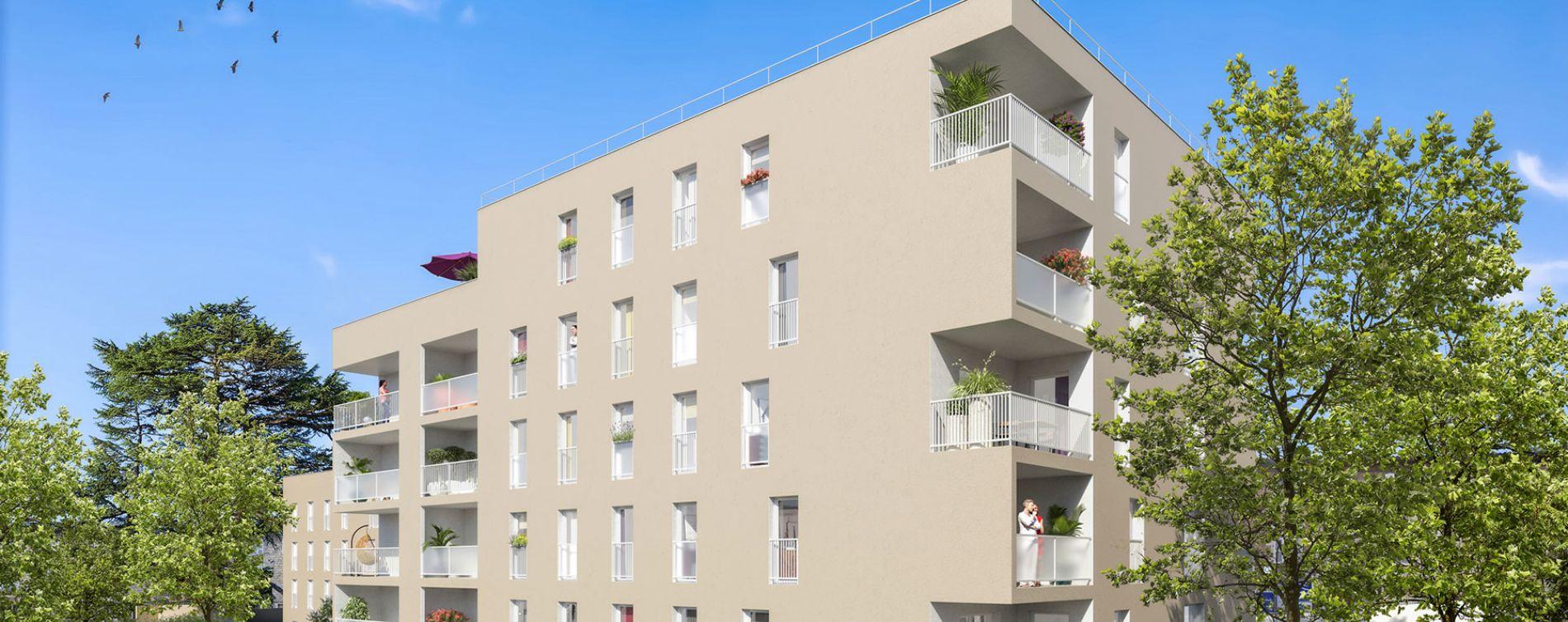 Gleizé : programme immobilier neuve « Terre de Cèdre » en Loi Pinel (3)