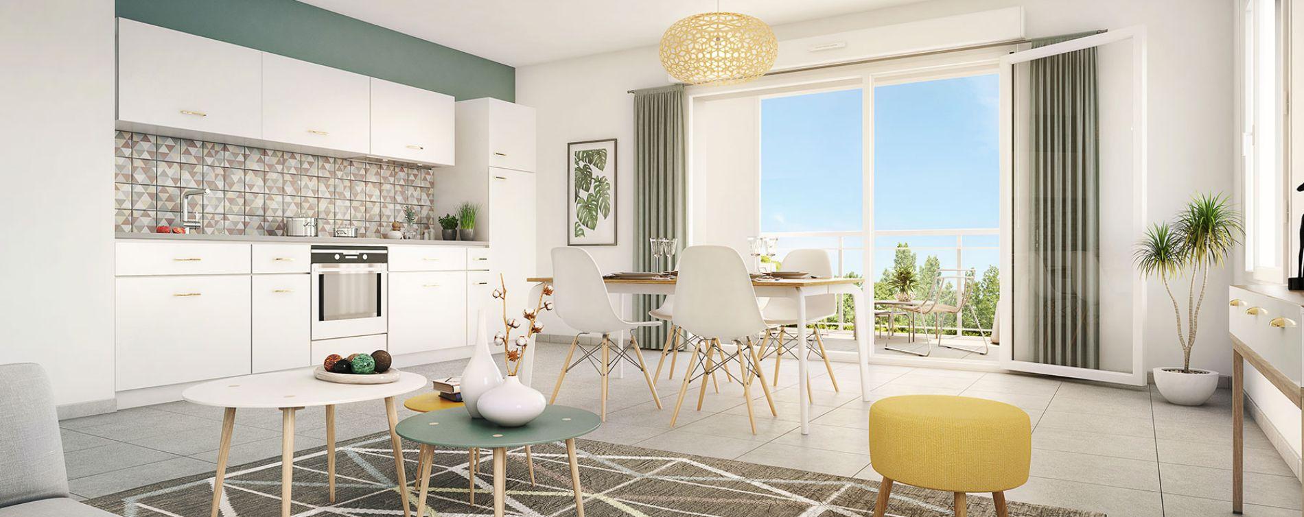 Grigny : programme immobilier neuve « Pastel » (3)